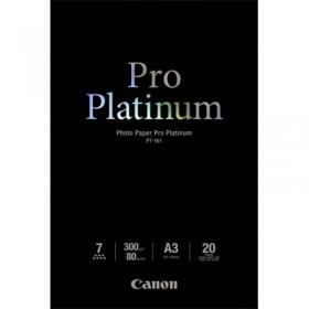 Canon Pro Platinum PT-101 A3 20 db-os fényes fotópapír (2768B017)