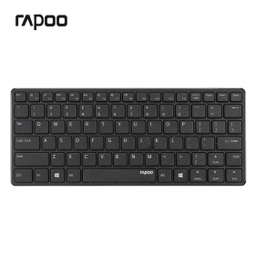 Rapoo E6350 iPad Compact bluetooth magyar fekete billentyűzet (157235)
