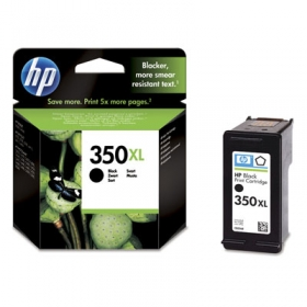 HP 350XL nagy kapacitású fekete tintapatron (CB336EE)