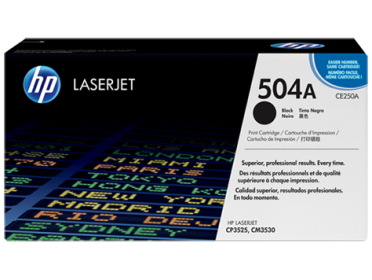 HP 504A fekete toner (CE250A)