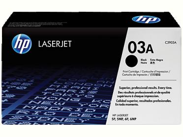HP 03A fekete toner (C3903A)