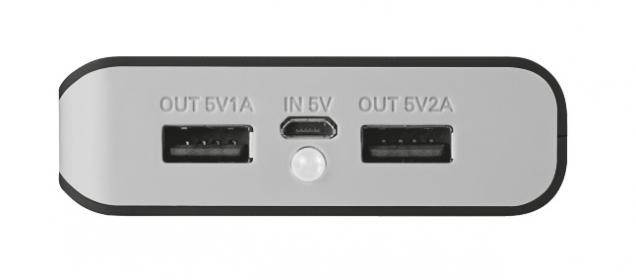 Trust Primo  8800 Portable Charger fekete-szürke PowerBank (21227)