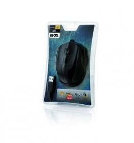 I-BOX i005 USB lézer gamer fekete egér (IMLAF005)
