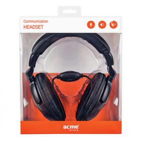 ACME CD850 fekete mikrofonos fejhallgató (  ACFHCD850)