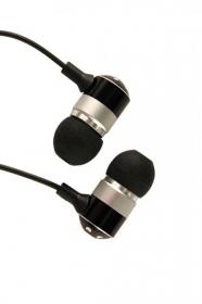 Sbox 1055B fekete fém házas fülhallgató