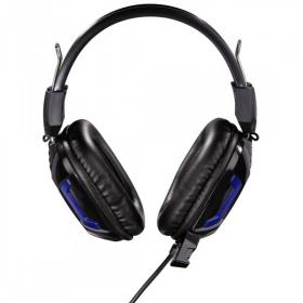 Hama uRage SoundZ Essential mikrofonos gamer fekete-kék headset (113744)