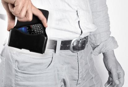 Cellularline ACTIESSENTIAL univerzális fekete övre rögzíthető telefontok (ACTIESSENTIAL4)