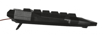 Trust GXT285 Advanced USB gamer fekete-piros billentyűzet (20433)