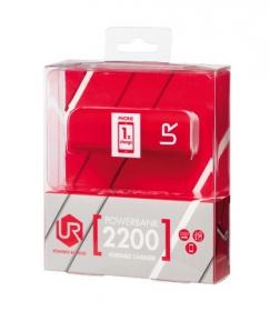 Trust Urban 2200  piros-fehér PowerBank (20067)