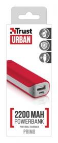 Trust Primo 2200 Portable Charger piros PowerBank (21223)