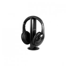 Media-Tech SIRIUS PRO wireless fekete mikrofonos fejhallgató (MT3578)