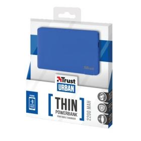 Trust Urban 2200T Ultra- thin Portable Charger kék PowerBank (20914)