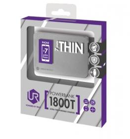 Trust Urban 1800T Ultra- thin Portable Charger ezüst PowerBank (20253)