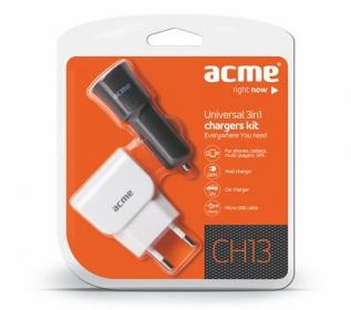 Acme ACHTCH13  3in1 töltőszett
