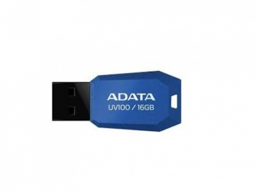 ADATA UV100 16GB USB2.0 Kék Pendrive (AUV100-16G-RBL)