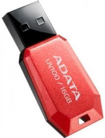 ADATA UV100 16GB USB 2.0 Piros Pendrive (AUV100-16G-RRD)