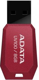 ADATA UV100 8GB USB2.0 Piros Pendrive (AUV100-8G-RRD)