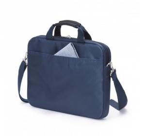 Dicota Slim case Base 13,3'' kék-narancssárga notebook táska  (D30995)