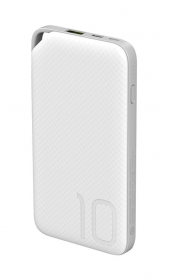 AP08Q POWER BANK Li-ion 9V/5V-2A QUICK 10000mA WHITE