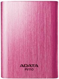 ADATA PV110 Power Bank 10400mAh Pink (APV110-10400M-5V-CPK)