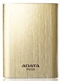 ADATA PV110 Power Bank 10400mAh Arany (APV110-10400M-5V-CGD)