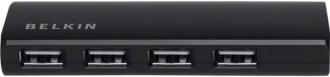 Belkin F4U040CW 4 portos fekete USB hub