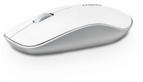 Rapoo 3500P wireless fehér optikai egér (155483)