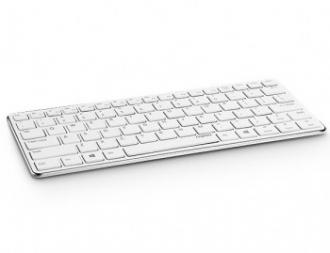 Rapoo E6350 iPad Compact bluetooth ezüst magyar billentyűzet (157236)
