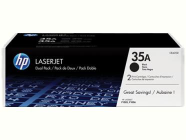 HP 35A fekete 2 db-os toner (CB435AD)