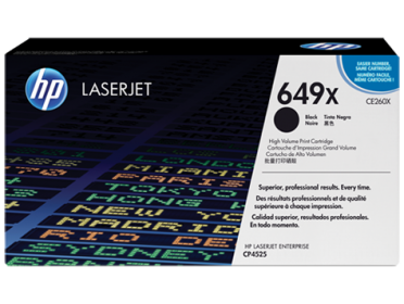 HP 649X fekete toner (CE260X)