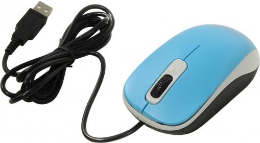 Genius  DX-110 USB optikai kék egér (31010116103)