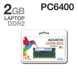 ADATA DDR2 2GB 800MHz CL5 SODIMM (AD2S800B2G5-R)