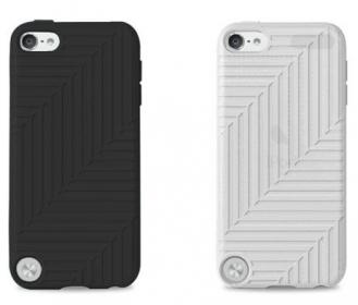 Belkin Flex Case  iPod Touch 5G fekete/átlátszó 2db tok (F8W142VFC00-2)