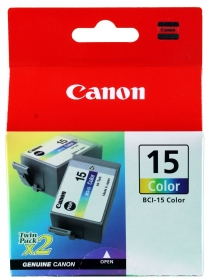 Canon BCI-15C színes 2 db-os tintapatron (8191A002)