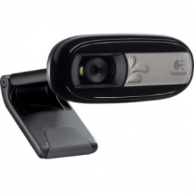 Logitech C170 fekete mikrofonos webkamera (960-001066)