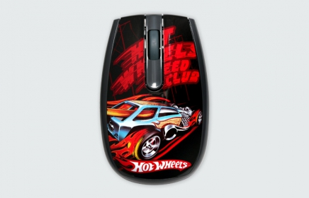 MODECOM MC-320 ART Hot Wheels 2 USB optikai mintás egér (M-MC-0320-ART-HW-2)