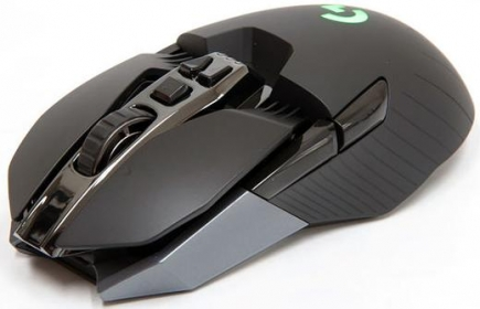 Logitech G900 CHAOS SPECTRUM wireless/USB optikai fekete gamer egér (910-004607)