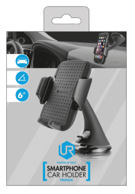 Trust 20398 6'' fekete autós telefontartó