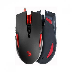 A4-Tech Bloody V2M USB optikai fekete-piros gamer egér