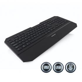 MODECOM MC-800U USB lengyel billentyűzet (K-MC-800U-100-U)