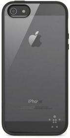 Belkin Candy Case  iPhone 5 átlátszó-fekete telefontok (F8W153VFC00)