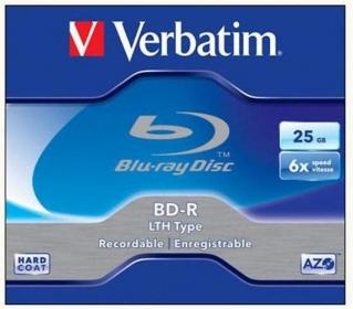 VERBATIM BRV-6L  BD-R 25GB 6x BluRay írható lemez
