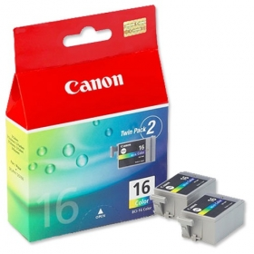 Canon BCI-16 2 db-os színes tintapatron (9818A002)