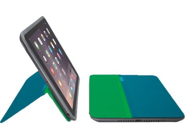 Logitech ANY ANGLE  iPad Mini 1/2/3 zöld-kék tablet tok (939-001164)