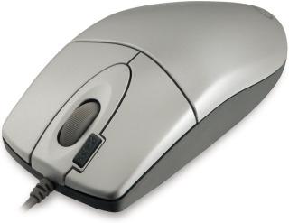 A4Tech EVO Opto Ecco 612D USB optikai ezüst egér (A4TMYS30399)