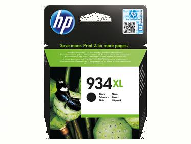 HP 934XL nagy kapacitású fekete tintapatron (C2P23AE)