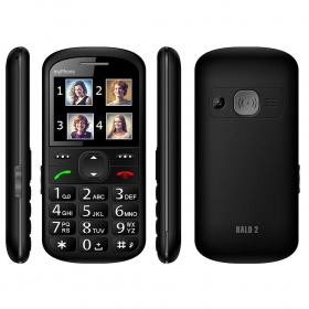 myPhone Halo 2 fekete mobiltelefon (5902052860548)