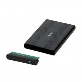 i-Tec MYSAFE Advance 2,5'' USB 3.0 - hordozható merevlemez ház fekete (MYSAFEU312)