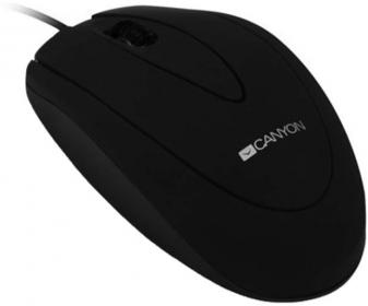 CANYON CNE-CMS1 USB optikai fekete egér