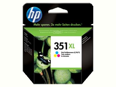 HP 351XL nagy kapacitású színes tintapatron (CB338EE)